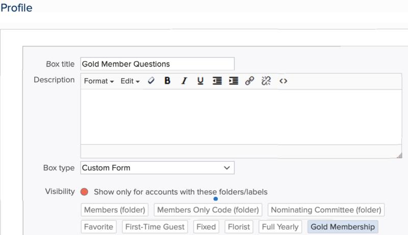 unique membership level questions