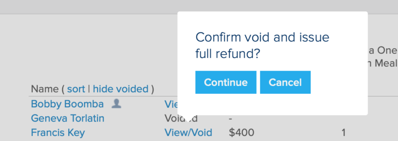 issue form refund