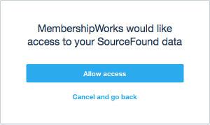 Xero allow access