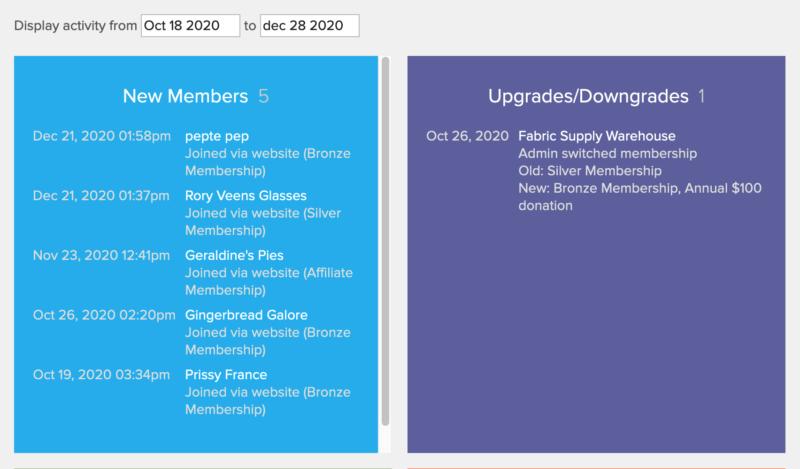 dashboard-membership